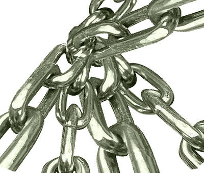 BRAND NEW from 2mm to 6mm MARINE GRADE STAINLESS STEEL 316 LONG LINK CHAIN BOAT