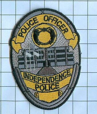 Police Patch Embroidered Mini-Patch  - Oregon - Police Officer Independence