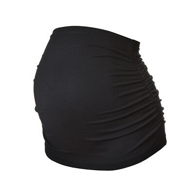 Ruched Maternity/Pregnancy Belly Band/Bump Band by Harry Duley. Cotton.