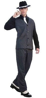 20's Gangster Adult Male Pinstripe Costume One Size Fits Most