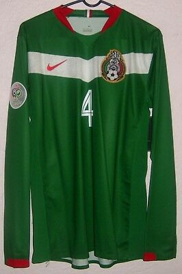 4f23ee415 NWT Mexico Nike World Cup 2006 Rafael Marquez Player Issue Home Soccer  Jersey