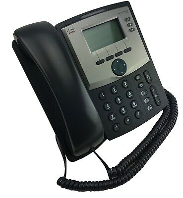 Cisco SPA303 VOIP Phone with Power Adapter, Base & Original Packaging