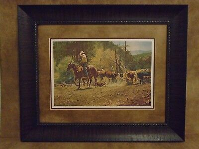 "Tim Cox Framed ""No Help From Mom"" Limited Edition 1806/2250"