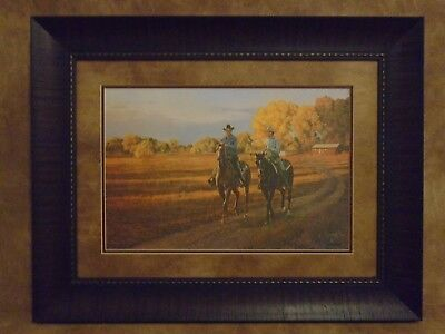 "Tim Cox Framed ""Fall Among The Animas"" Limited Edition 2160/2250"