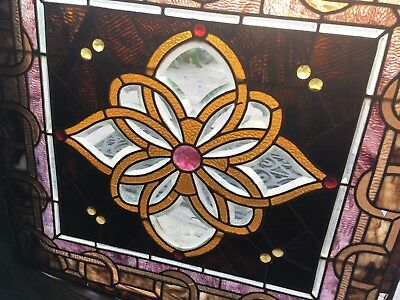 Stained Glass Zippered And Beveled