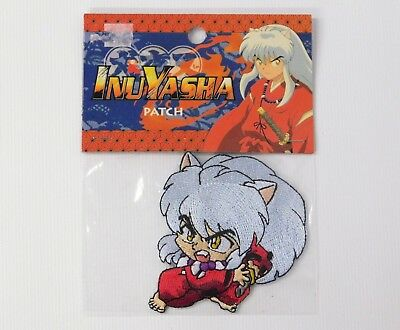 InuYasha Attack Stance Embroidered Patch NEW 2005 Sunrise