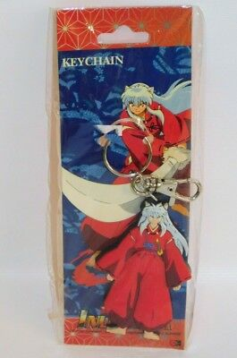 "InuYasha Standing Figure 3"" Rubber Key Chain US SELLER Anime Manga Keychain 2005"
