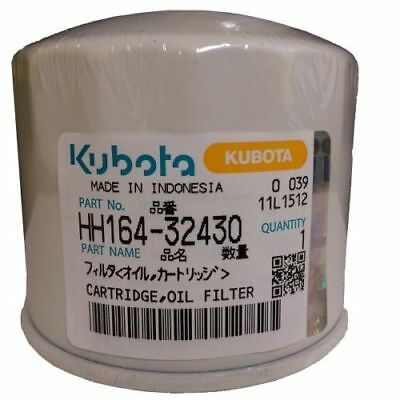 Kubota Oil Filter Part # HH164-32430 ORDERS OF 3 OR MORE GETS A FREE KUBOTA HAT