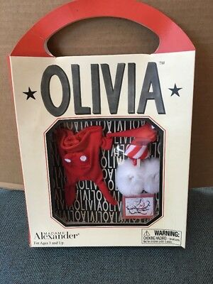 Madame Alexander 2002 Bedtime Olivia The Pig Red Pajamas NEW in box