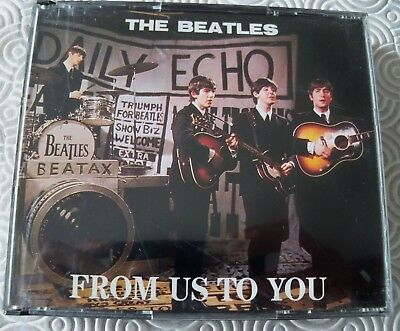 """Beatles """"From Us To You"""" Rare Double Fat Cd Bbc Sessions 1963 - 1965 Swingin Pig"""