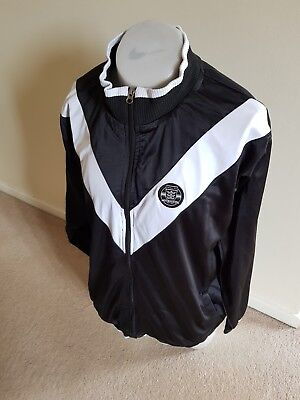 Official Hull FC Rugby BLACK/WHITE Track Jacket XXL.  150 years addition.