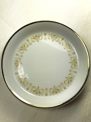 Vintage Sheffield Fine China Of Japan Imperial Gold 4 Inch Plate