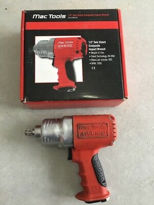 "Mac tools 1/2"" Twin Clutch Composite impact wrench AW612Q"