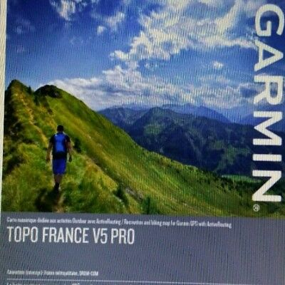 Latest Garmin Topo France V5 Pro Terrain Topographic Map Bushwalk Hiking