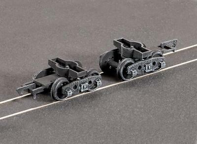 GWR Plate Bogies spoked (pair) - Ratio 126 - OO/HO spares - F1