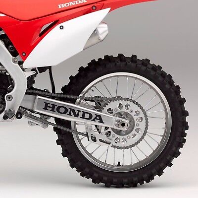Kit of 2 stickers fits HONDA Swingarm DECAL CR CRF XR CRM 250 450 125 650