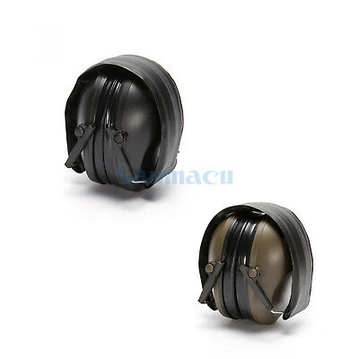Black/Military Green Anti-noise Impact Hunting Tactical Earmuff Hear Protection