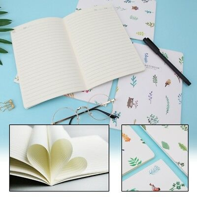 Flower Plant A5 Notebook 30 Page Notepad Diary Book Journal School Supplies New