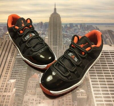 4488803eae2 ... Nike Air Jordan XI 11 Retro Low BP Bred PS PreSchool Size 1Y 505835 012  New ...