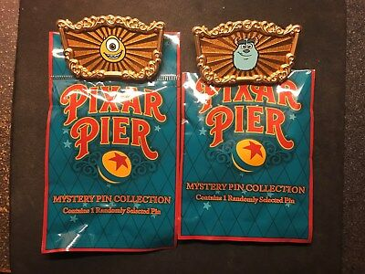 Pixar Pier Mike and Sulley Disney Pin LE 200 Cast Exclusive Monsters Inc WDI MOG
