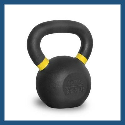 16kg Classic Powder Coated Cast Iron Russian Style KettleBell