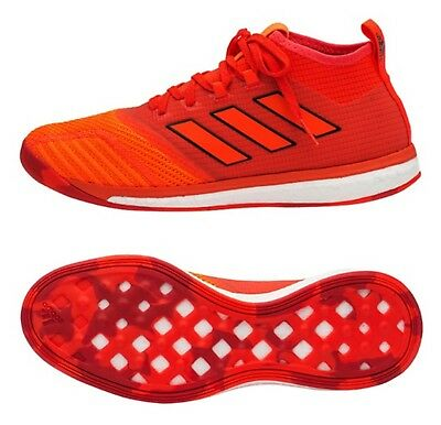 47df9a5695d34b Adidas Men ACE Tango 17.1 TR Indoor Orange Futsal Soccer Shoes Boot Shoes  BY2231