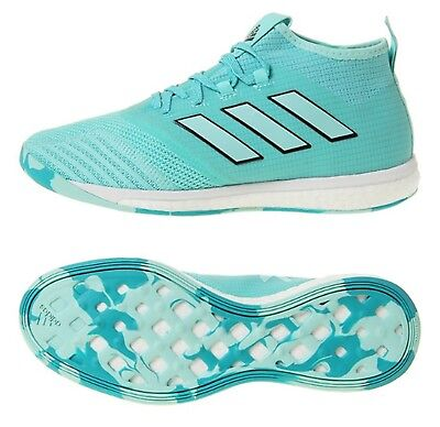 92f56760871801 Adidas Men ACE Tango 17.1 TR Indoor Mint Futsal Soccer Shoes Boot Shoes  BY1993