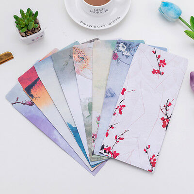 10* Chinese Style Paper Envelope Letter Paper Wedding Invitation Letter CoverHot