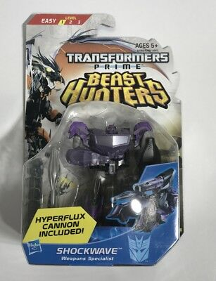 Transformers Prime Beast Hunters Commander Class Shockwave Action Figure