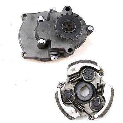 17T T8F Clutch Gear Box Drum  Clutch Pad 47 49cc Mini Pocket Quad Dirt Bike ATV