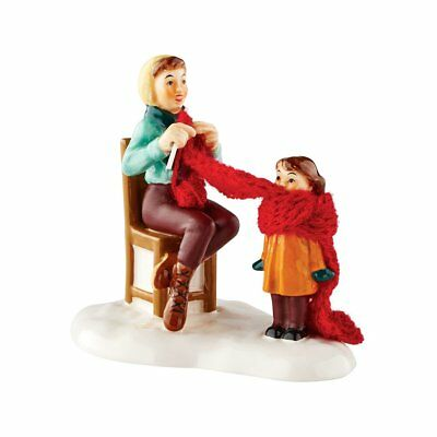Department 56 Snow Village Mother' s Little Helper 2016 (f6Y)