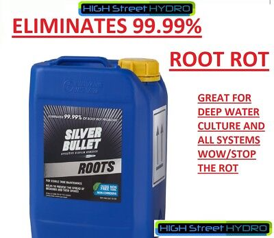 Silver Bullet - Roots 5L Hydroponic Disease Eliminator Cleaner ! WOW! NEW 5 LTR