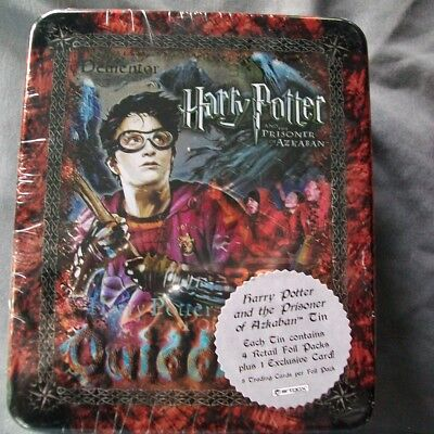 2004 Artbox Harry Potter and the Prisoner of Azkaban Collector Tin SEALED