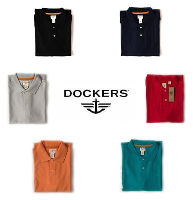Genuine Dockers Men's Short Sleeve Summer wear Polo Shirt Gift