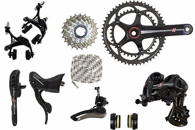 2015-18 Campagnolo Super Record 11 Speed Group Groupset 6 Pieces 170mm Crankset