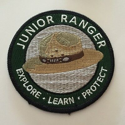 Explore Learn Protect - National Park Junior Ranger Patch