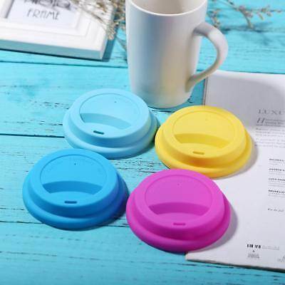 1PCS Food Grade Silicone Drinking Lid Cup Lid Cup Cover For Travel Coffee Mug