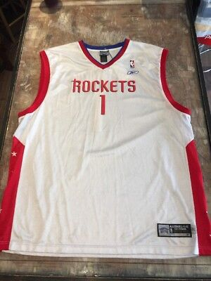 20ad12609 Reebok Tracy Mcgrady Nba All Star Houston Rockets Jersey Sz Xxl Rare