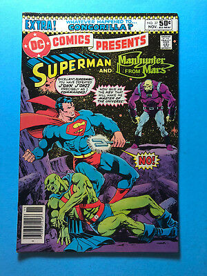 DC Comics Presents 27 DC 11/80 1st Mongul Superman Manhunter from Mars A2