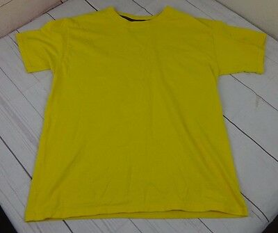 Hanes Kids Beefy-T Cotton T-Shirt - Yellow  Boys XL T - A1714
