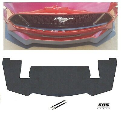 PP2 style FRONT SPLITTER + 2 winglets 2018-2019 MUSTANG GT Performance Pack