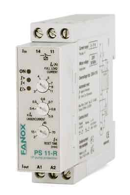 Single-Phase 115VAC Pump Protection Relay WITHOUT LEVEL SENSOR, by Undercurrent