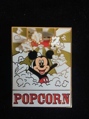 DISNEY MICKEY POPCORN PIN Soda Fountain and Studio Store LE 300 Limited Edition