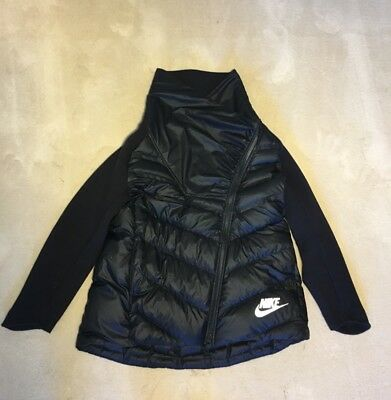 5bf530e3f60 NIKE SPORTSWEAR WINDRUNNER BIG KIDS GIRLS PRINTED JACKET 943353-010 ...
