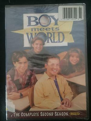 NEW Boy Meets World-The Complete Second Season (DVD, 2010, 3-Disc Set) FREE Ship