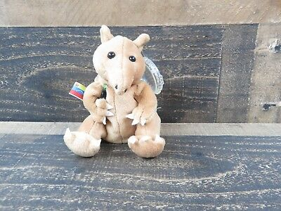"Coca Cola Bean Bag Plush  8"" Stuffed Animal Toy // Taps The Tapir Aardvark"