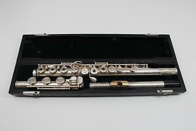 Pearl 765 Quantz Solid Silver Flute-WITH CASE