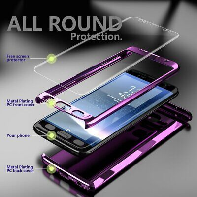 For Galaxy S9 Plus Case Ultra Thin Shockproof Full Body Hybrid Hard Cover Skin