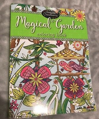 Cra Z Art Timeless Creations Adult Coloring Books Magical Gardens Crative Book