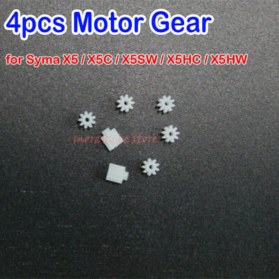 4PCS Motor Gear For Syma X5C X5SW X5HW RC Quadcopter Drone Motor Gear Spare Part